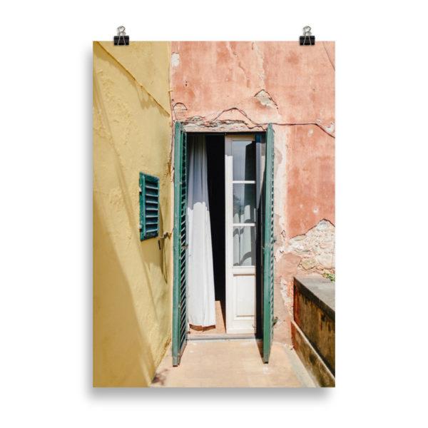Tuscan Door - Urban Print by Candima
